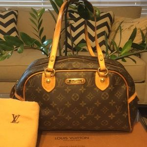 Authentic Louis Vuitton Montorguiel  w Dustbag